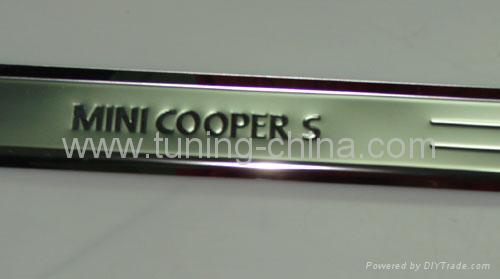 Door sills plate for Mini Cooper 2