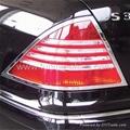 Hot!Mercedes Benz W220 S class luxruy chrome trim 4