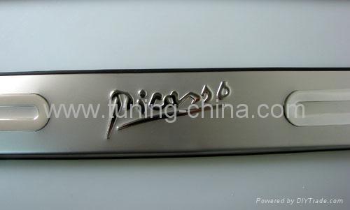 Door sills plate for Citroen Picasso 2