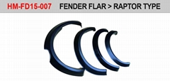 Fender flares set for Ranger T7 Raptor Style (Hot Product - 1*)