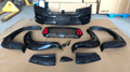 UPGRADE FACELIFT FRONT BUMPER FIT FOR HILUX REVO ROCCO 16-19 TO AMG LOOK
