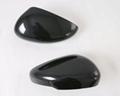 ABS Carbon Fiber Side Door Mirror Cover Molding Trim Rear View Mirror For Escape