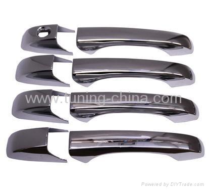 Chrome door handle cover for Chrysler 300c