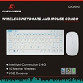 Wireless keyboard and mouse combo GKM500 3