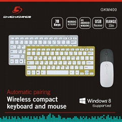 Wireless Keyboard and Mouse KM400