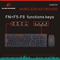Wireless Keyboard and Mouse GKM700