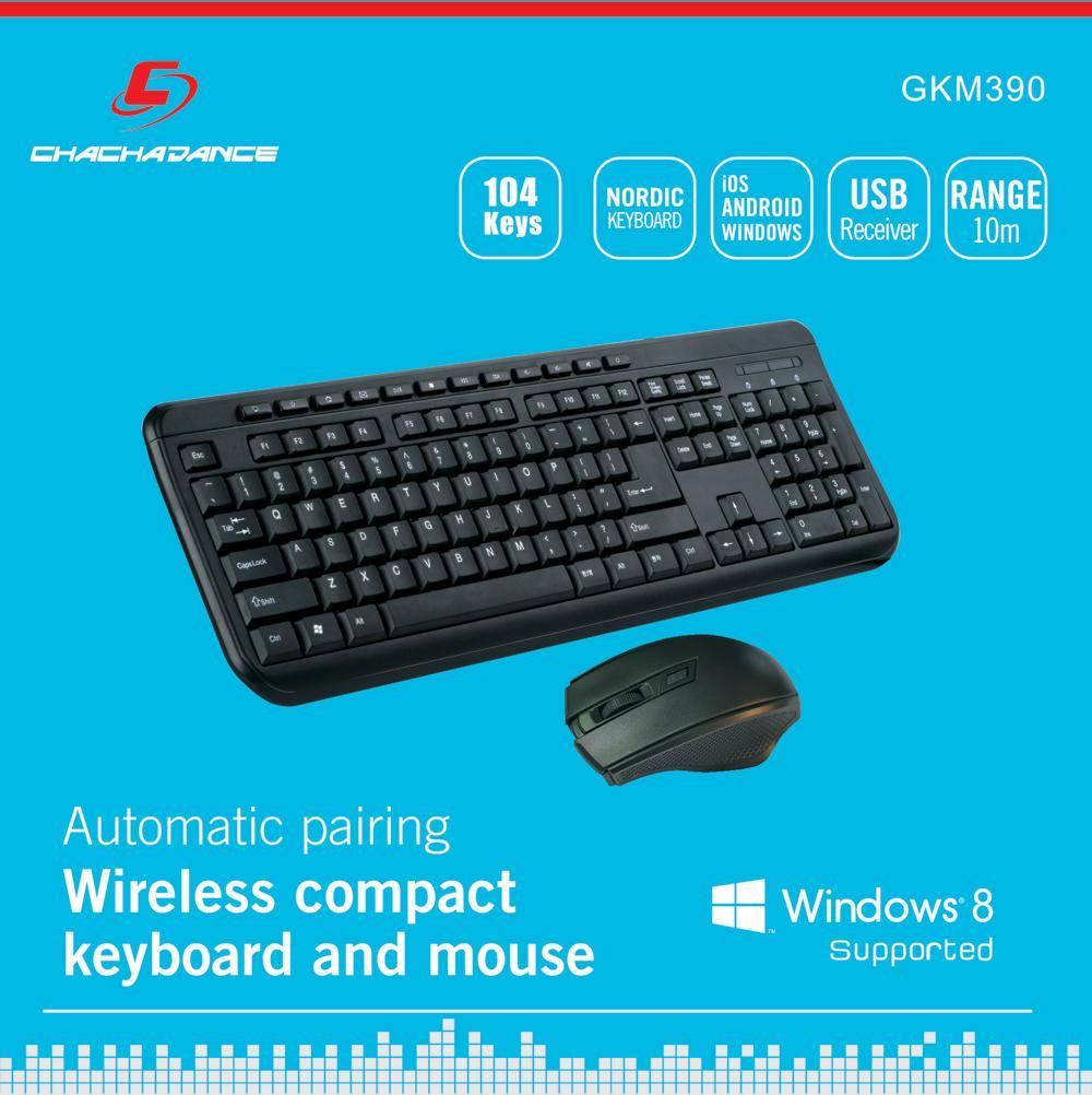 无线键鼠套装 GKM390 3