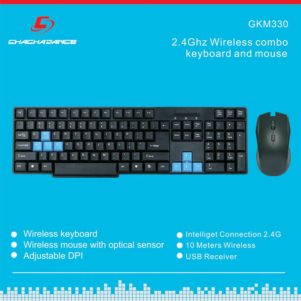 Wireless Keyboard and Mouse KM330 1