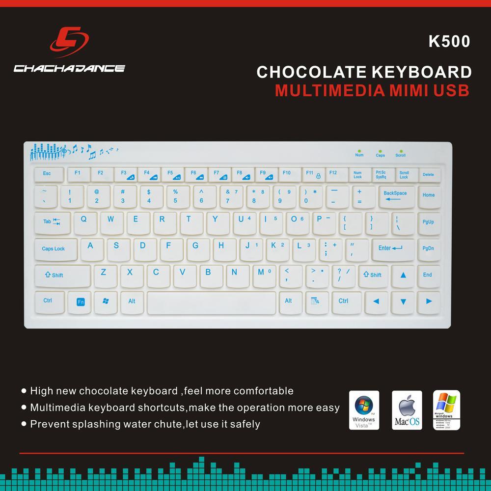 Mini Chocolate Keyboard K500 2