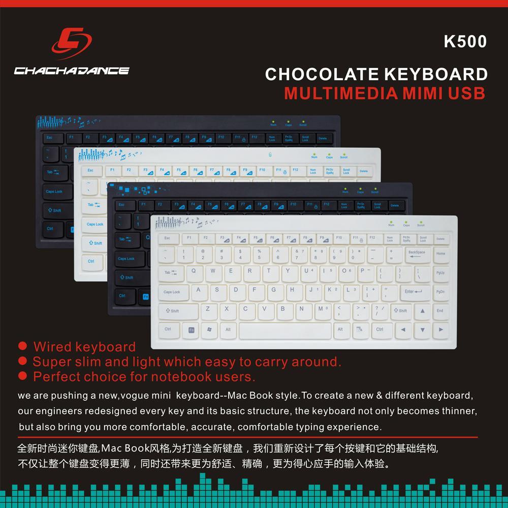 Mini Chocolate Keyboard K500 3