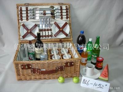 柳編野餐籃 1