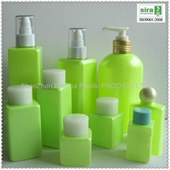 empty cosmetic bottle,pet plastic cosmetic bottle