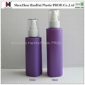 120ml/4oz plastic lotion bottle,pet