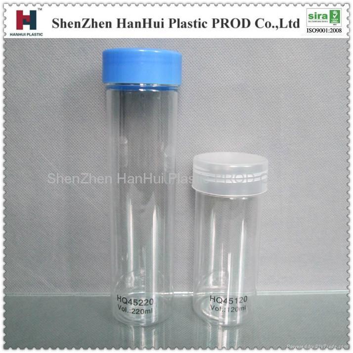 供應工藝禮品塑料瓶  pet塑料罐 ,酒店,洗滌用品包裝 1