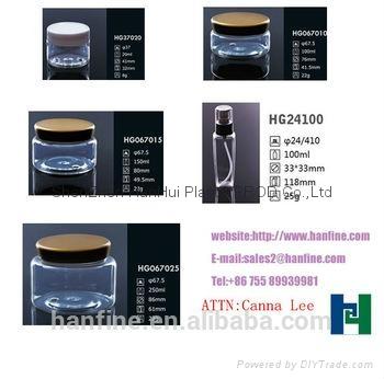 供應工藝禮品塑料瓶  pet塑料罐 ,酒店,洗滌用品包裝 5