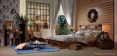 藤傢具;沙發,床,台,椅子;