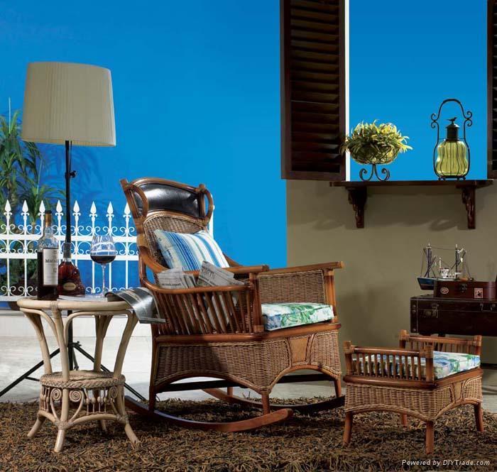 藤家具;沙发,床,台,椅子; 4