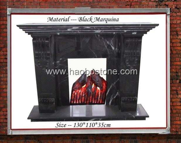 Marble fireplace 2