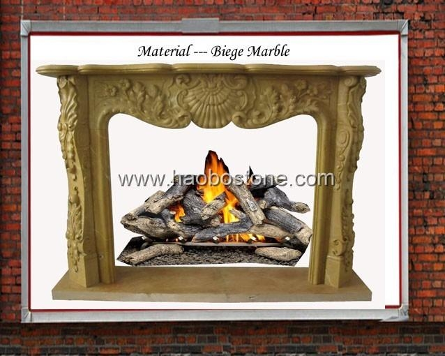 Marble fireplace 3