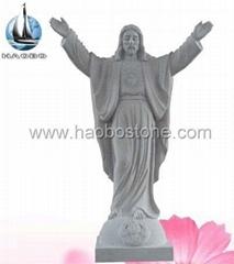 Granite statue
