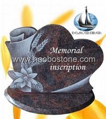 Granite memorial plaque