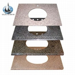 granite counter top in different kind of material