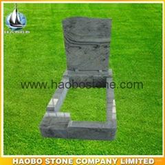 Granite tombstone for pr