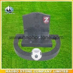 Granite tombstone from haobostone factory