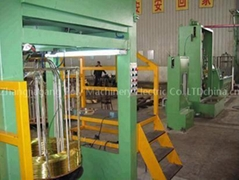 brass wire intermediate wire drawing machine & continuous annealing