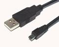 USB A Plug To Mini USB 8pin Cable