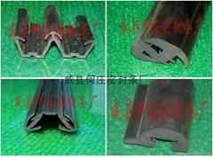 Car door sealing strip