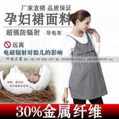 30% of metal fiber fabrics of radiation protection