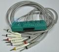 日本911D心電圖機十二導聯線