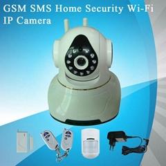 GSM短信家庭安防网络摄像机