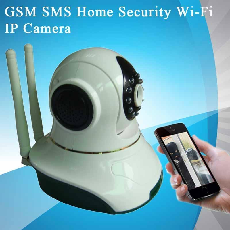 gsm sms home security wi fi ip camera hg7835wip honghui or oem china manufacturer. Black Bedroom Furniture Sets. Home Design Ideas