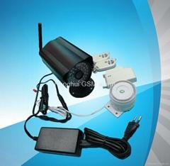MMS ALARM built in camera