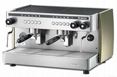 Semi-automatic coffee machine