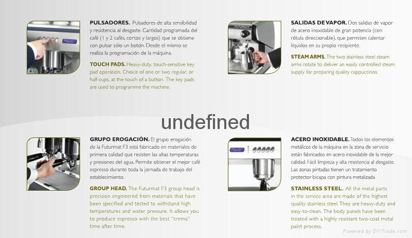 FUTURMAT半自动咖啡机 3