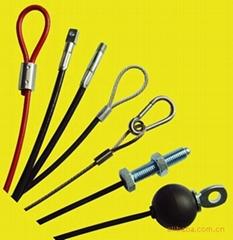 壓制塗塑鋼絲繩