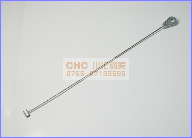 異型壓鑄鋅頭鋼絲繩 5