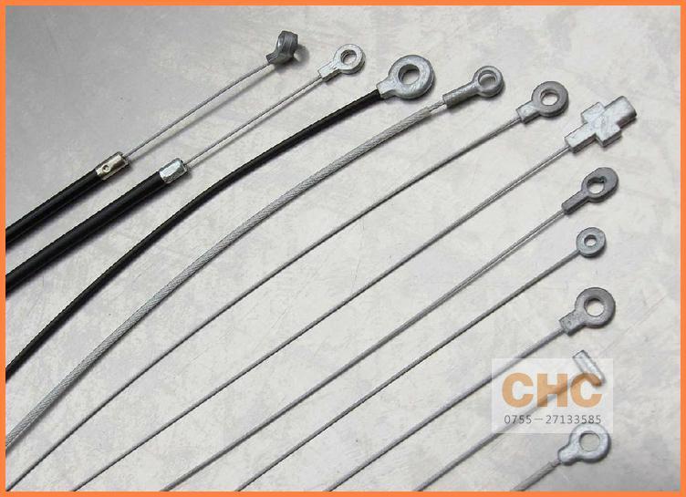異型壓鑄鋅頭鋼絲繩 2
