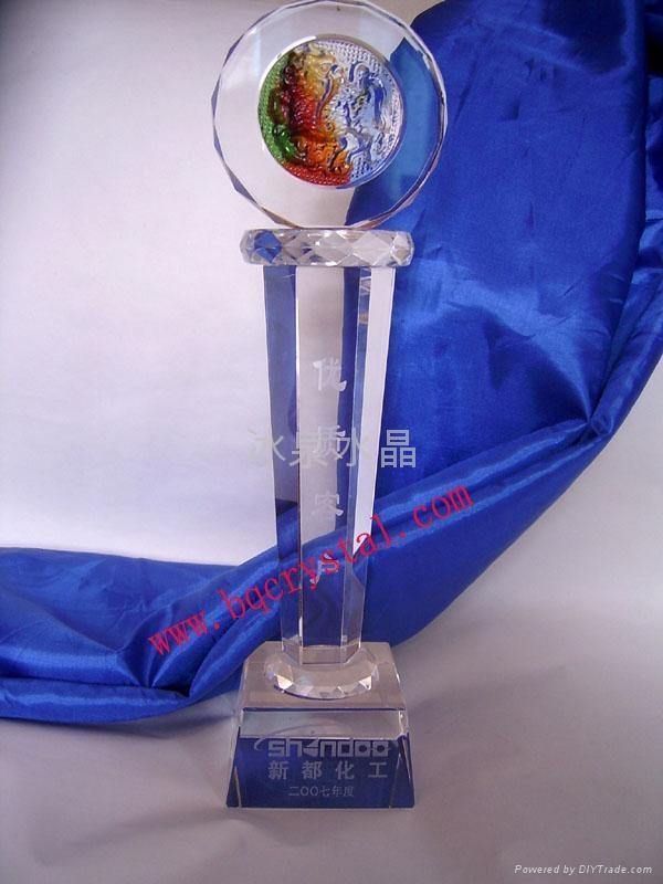 水晶獎杯工藝品 2