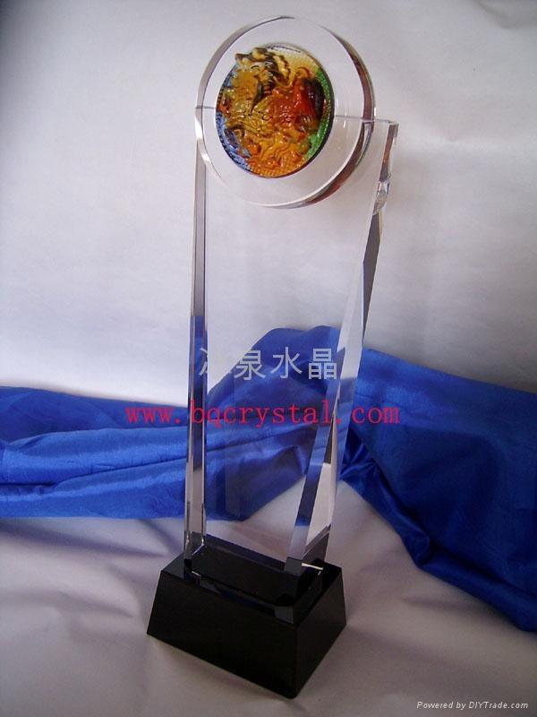 水晶獎杯工藝品 4