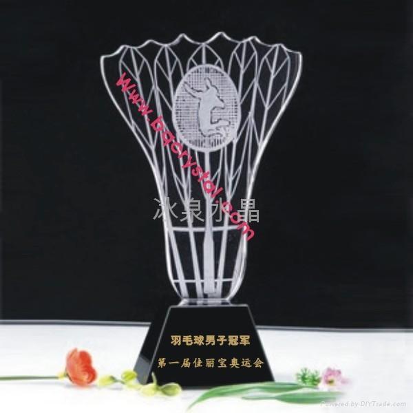 水晶獎杯工藝品 5
