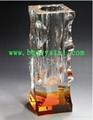 水晶花瓶擺件 2