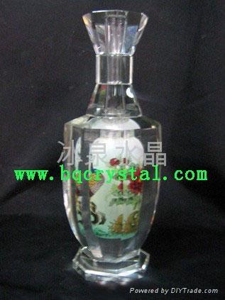 水晶花瓶擺件 3
