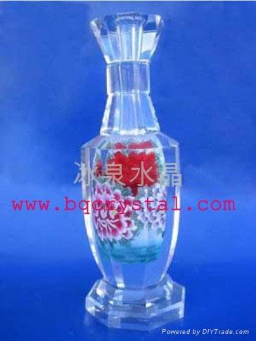 水晶花瓶擺件 4