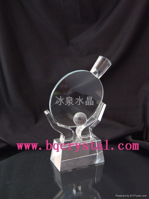 水晶奖杯 4