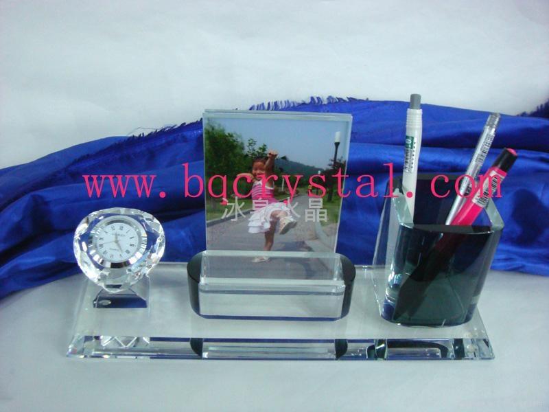 水晶筆筒水晶工藝品 2
