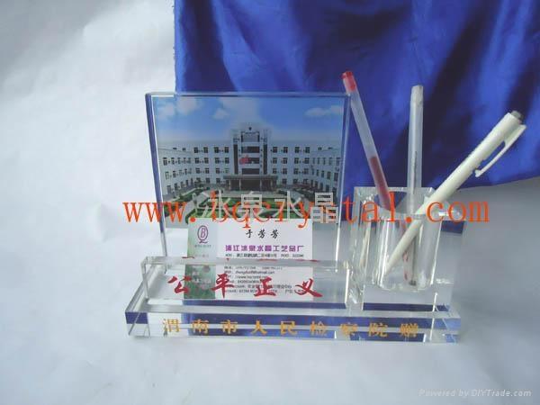 水晶筆筒水晶工藝品 5